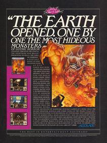 Elvira II: The Jaws of Cerberus - Advertisement Flyer - Front