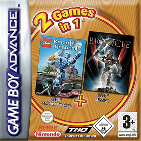 2 Games in 1: LEGO Knights' Kingdom + LEGO Bionicle
