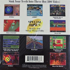 The 3DO Interactive Sampler CD #2 - Box - Back