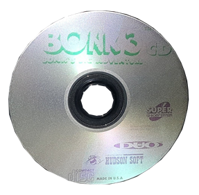Bonk 3: Bonk's Big Adventure - Disc