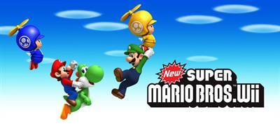 New Super Mario Bros. Wii - Banner