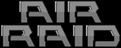 Air Raid - Clear Logo