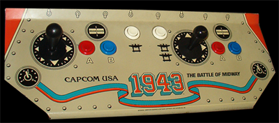 1943: The Battle of Midway - Arcade - Control Panel