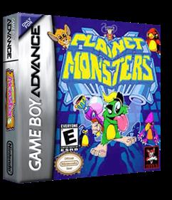 Planet Monsters - Box - 3D