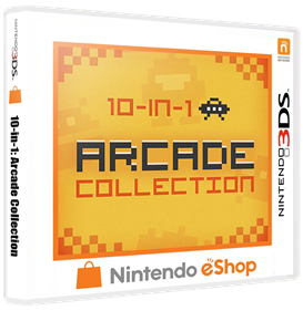 10-in-1: Arcade Collection - Box - 3D