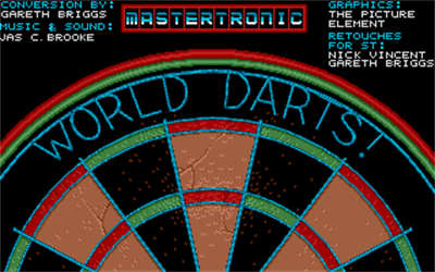 World Darts! - Screenshot - Game Title