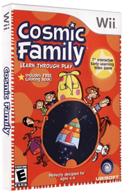 Cosmic Family - Box - 3D
