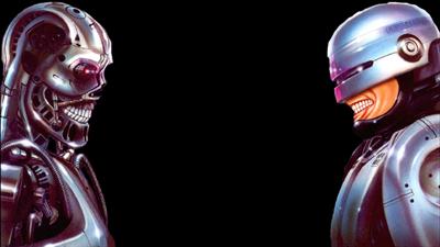 RoboCop Versus The Terminator - Fanart - Background