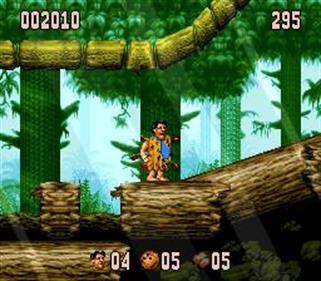 The Flintstones - Screenshot - Gameplay
