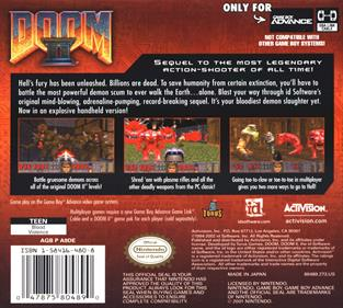 Doom II - Box - Back