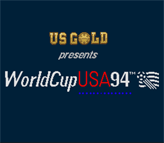 World Cup USA 94 - Screenshot - Game Title