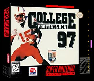 College Football USA 97 - Box - 3D