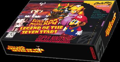 Super Mario RPG: Legend of the Seven Stars - Box - 3D
