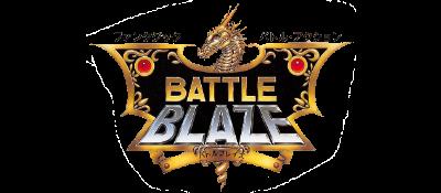 Battle Blaze - Clear Logo