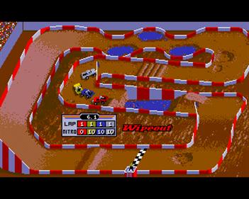 """Ivan """"Ironman"""" Stewart's Super Off Road - Screenshot - Gameplay"""