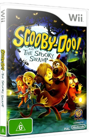 Scooby-Doo! and the Spooky Swamp - Box - 3D