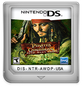 Pirates of the Caribbean: Dead Man's Chest - Fanart - Cart - Front
