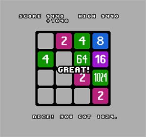 2048 - Screenshot - Gameplay