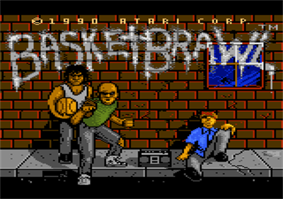 Basketbrawl - Screenshot - Game Title