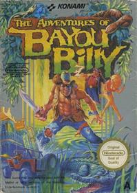 The Adventures of Bayou Billy - Box - Front