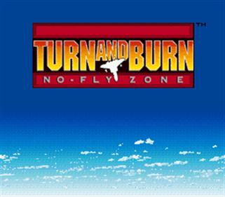 Turn and Burn: No-Fly Zone - Screenshot - Game Title