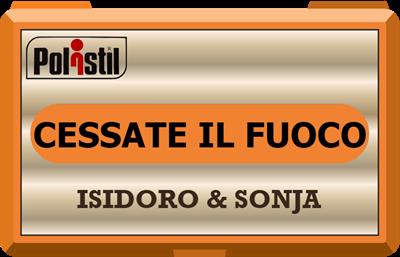 Isodoro & Sonja: Cessate il Fuoco - Clear Logo