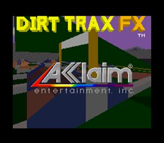 Dirt Trax FX - Screenshot - Game Title