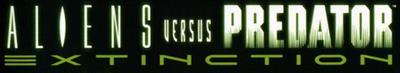 Aliens Versus Predator: Extinction - Banner