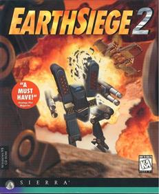 EarthSiege 2 - Box - Front