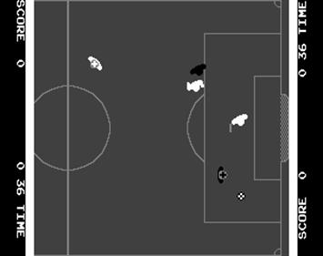 Atari Soccer - Screenshot - Gameplay