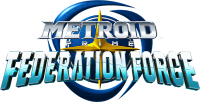 Metroid Prime: Federation Force - Clear Logo