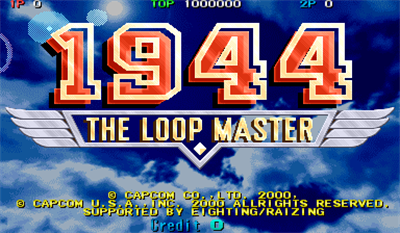 1944: The Loop Master - Screenshot - Game Title
