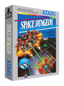 Space Dungeon - Box - 3D