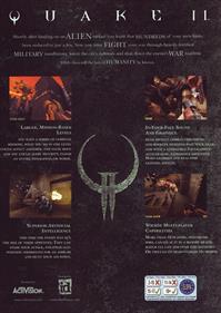 Quake II - Box - Back