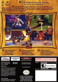 Spyro: A Hero's Tail - Box - Back