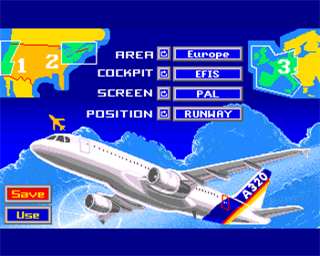A320 Airbus Vol. 2 - Screenshot - Game Title