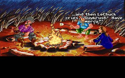 Monkey Island 2: LeChuck's Revenge - Screenshot - Gameplay