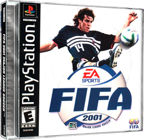 FIFA 2001: Major League Soccer - Box - 3D