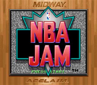 NBA Jam - Screenshot - Game Title