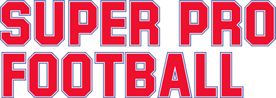 Super Pro Football - Clear Logo
