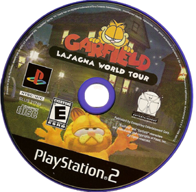 Garfield: Lasagna World Tour - Disc