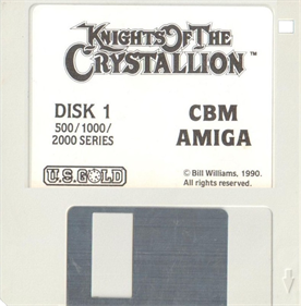 Knights of the Crystallion - Disc