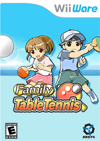 Family Table Tennis