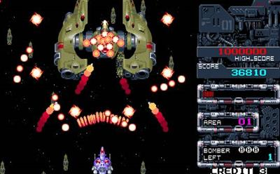 Flame Zapper Kotsujin - Screenshot - Gameplay