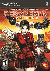 Command & Conquer: Red Alert 3: Uprising - Fanart - Box - Front