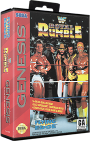 WWF Royal Rumble - Box - 3D