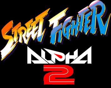 Street Fighter Alpha 2 - Clear Logo