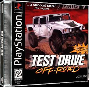 Test Drive: Off-Road - Box - 3D