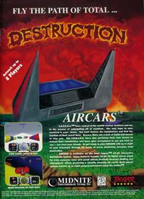 AirCars - Advertisement Flyer - Front