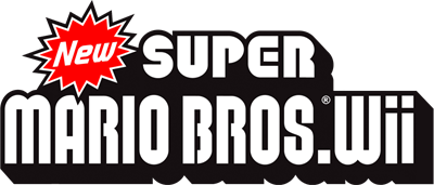 New Super Mario Bros. Wii - Clear Logo